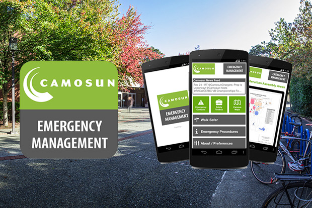 Emergency Management app screenshots