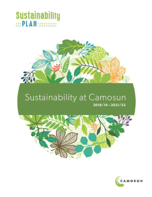 Sustainability Plan 2018-2022 cover image
